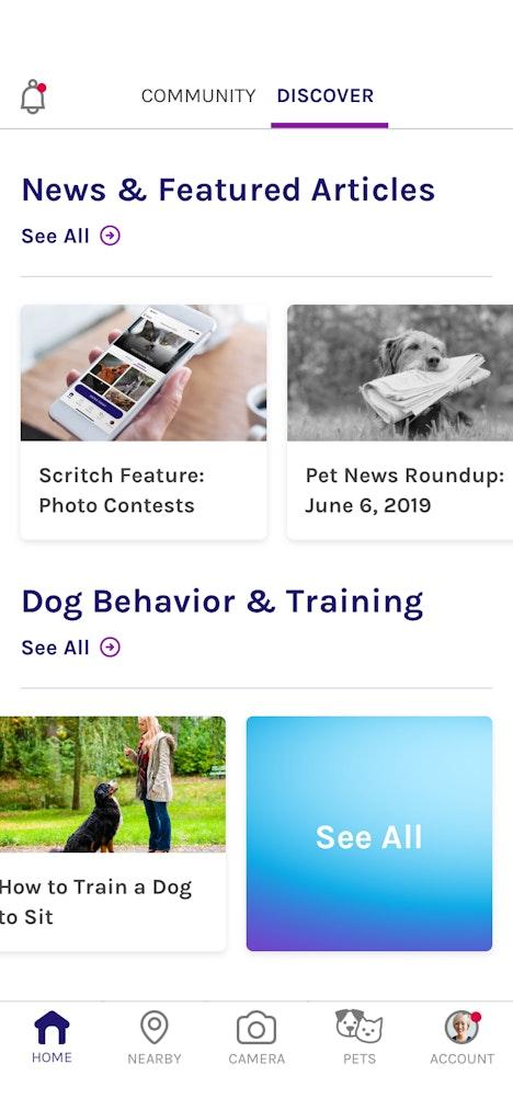 Scritch Screen discover