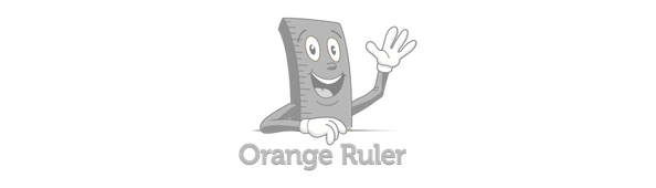 Orange ruler grey